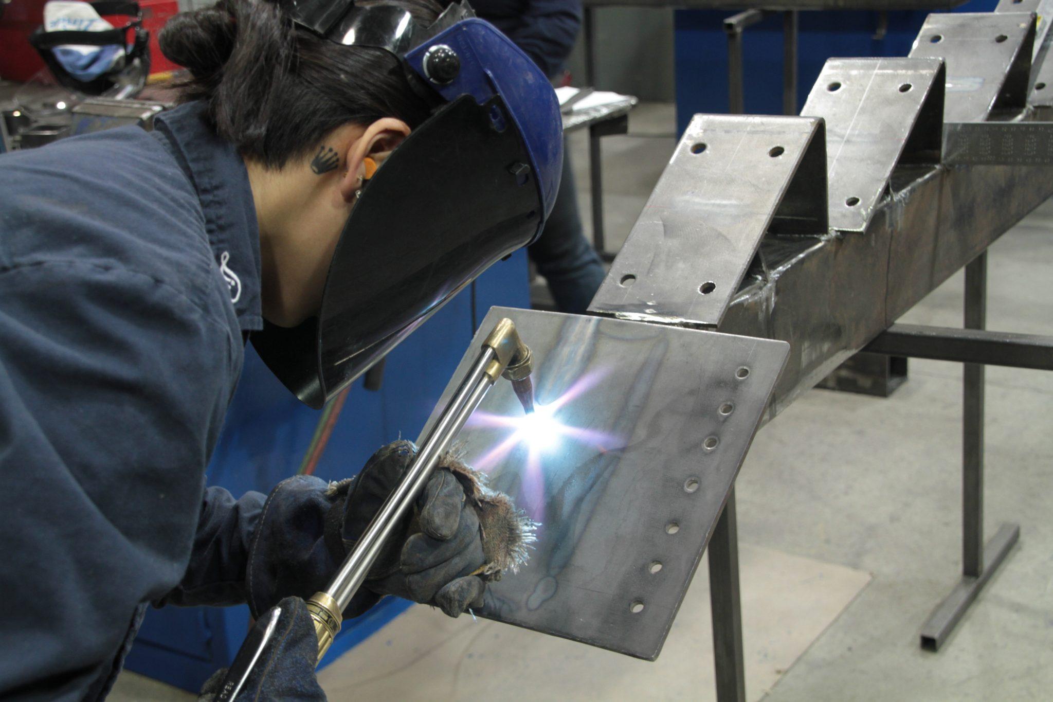 Soudage de structures métalliques
